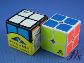 FangShi ShiShuang 2x2x2 White BF 50 mm