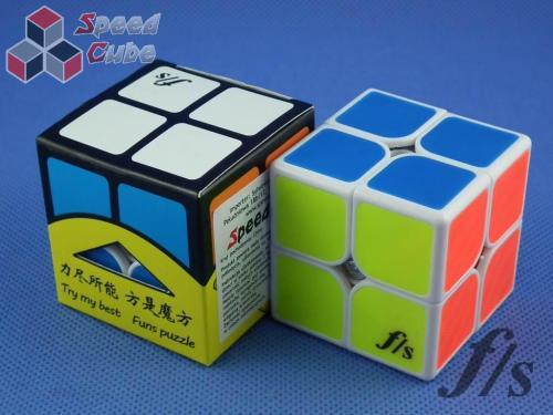 FangShi ShiShuang 2x2x2 White BF