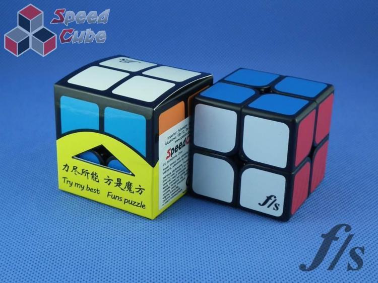 FangShi ShiShuang 2x2x2 Czarna 55 mm