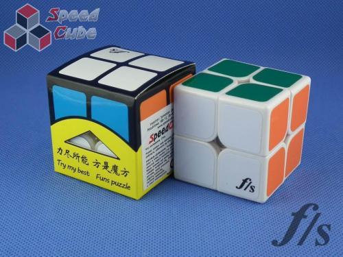 FangShi ShiShuang 2x2x2 Biała 55 mm