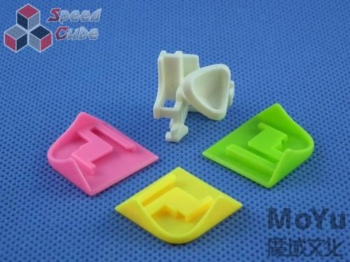 MoYu LingPo 2x2x2 Kolorowa PiNK