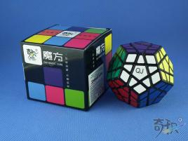 QJ Megaminx Stickers v2 Czarna