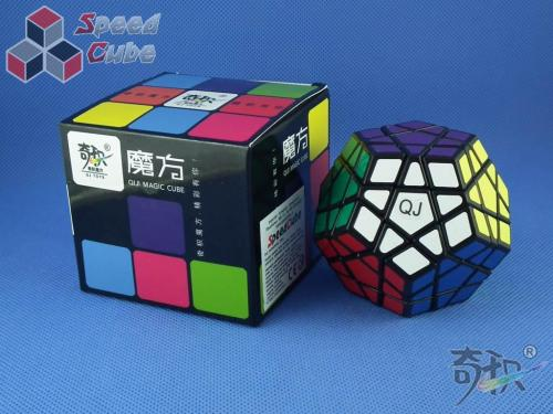 QJ Megaminx Stickers Czarna