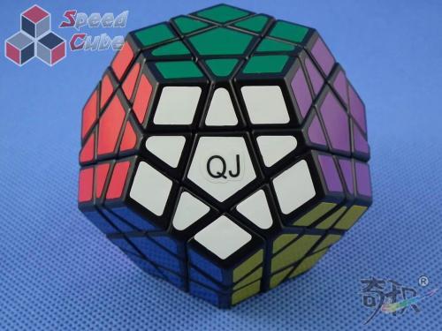 QJ Megaminx Stickers Czarna