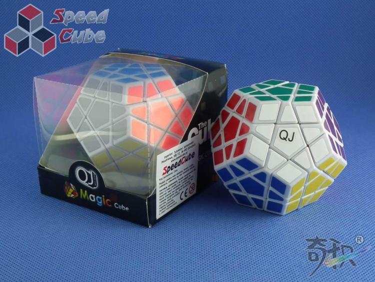 QJ Megaminx Stickers Biała