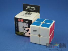 MoFangGe QiYi QiDi 2x2x2 Biała