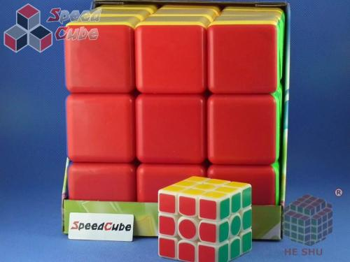 HeShu 3x3x3 18 cm Kolorowa