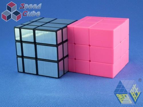 ZhiSheng YuXin Mirror 3x3x3 Silver + Black Body