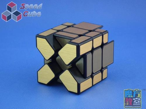 MoYu MoFang JiaoShi Mirror Fisher Gold