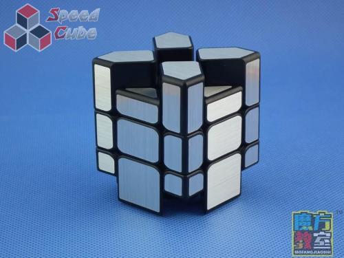 MoYu MoFang JiaoShi Mirror Fisher Silver