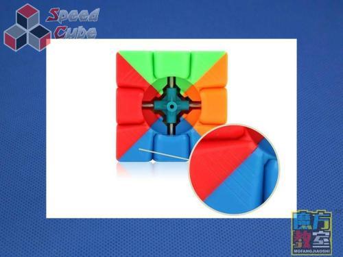 MoYu MoFang JiaoShi Mini 3x3x3 35 mm Kolorowa Brelok