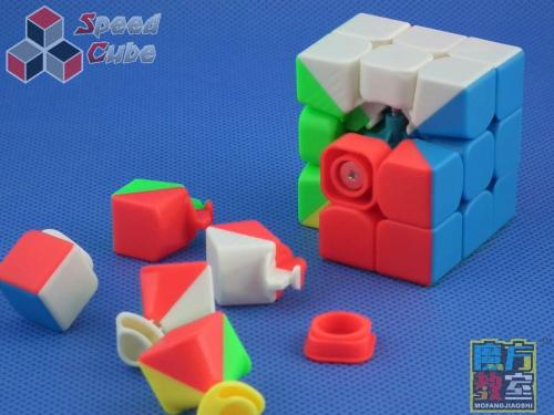 MoYu MoFang JiaoShi Mini 3x3x3 45 mm Kolorowa