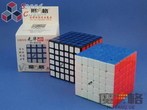 MoFangGe QiYi 6x6x6 WuHua v2 Czarna