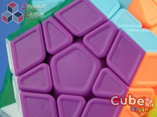 Cube Style Megaminx Sculpture Kolorowa