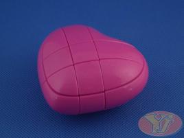 YongJun Heart 3x3x3 Pink