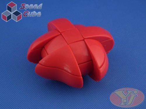 YongJun Heart 3x3x3 Red