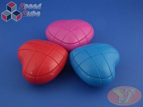 YongJun Heart 3x3x3 Blue