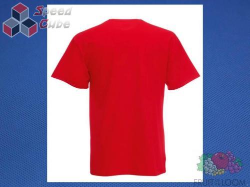 Koszulka z nadrukiem 1 Rozm. 128/7-8 lat Czerwona