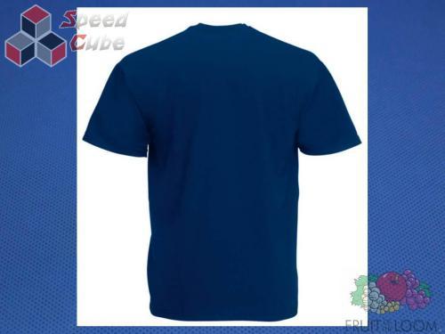 Koszulka z nadrukiem 1 Rozm. 128/7-8 lat Granatowa