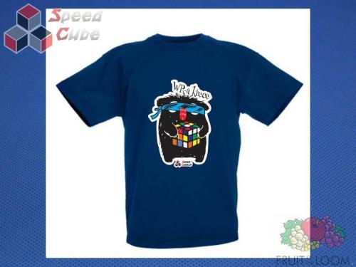 Koszulka z nadrukiem 11 Rozm. 140/9-11 lat Granatowa