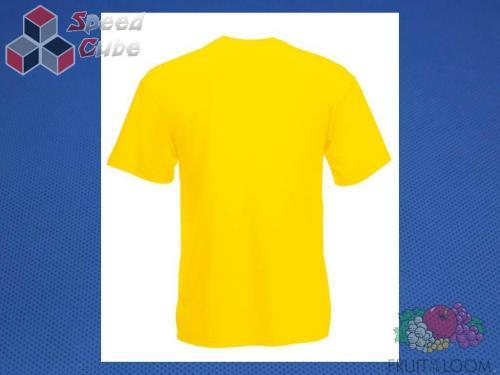 Koszulka z nadrukiem 3 Rozm. 140/9-11 lat Żółta
