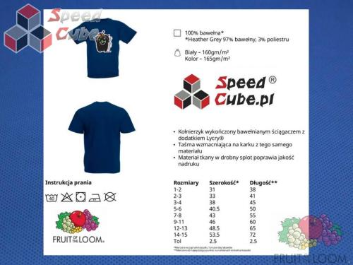 Koszulka z nadrukiem 1 Rozm. 152/12-13 lat Granatowa