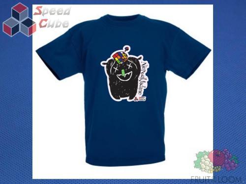 Koszulka z nadrukiem 1 Rozm. 164/14-15 lat Granatowa