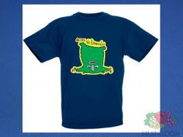 Koszulka z nadrukiem 10 Rozm. 164/14-15 lat Granatowa