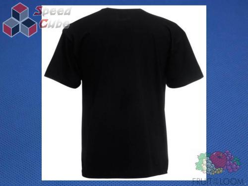 Koszulka z nadrukiem 3 Rozm. 152/12-13 lat Czarna