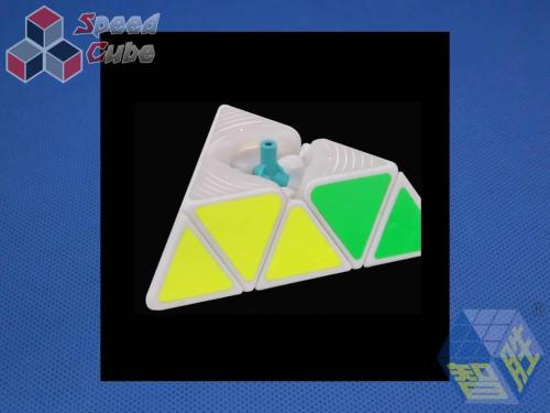 ZhiSheng YuXin Little Magic Pyraminx Kolorowa