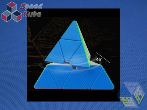 ZhiSheng YuXin Little Magic Pyraminx Czarna