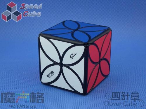 QiYi MoFangGe Clover Cube Czarna