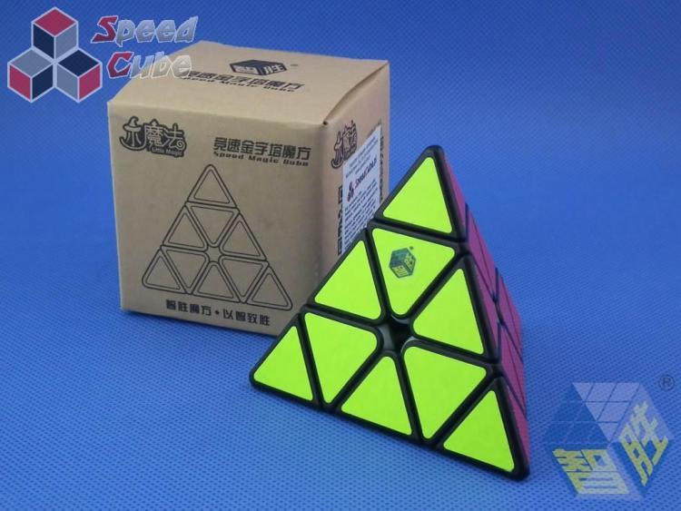 ZhiSheng YuXin Little Magic Pyraminx Czarna