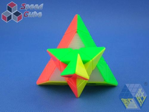 ZhiSheng YuXin Little Magic Pyraminx Kolorowa