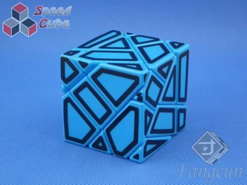 FangCun Ghost Cube Blue Body Black Hollow Stick.