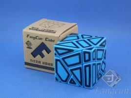 FangCun Ghost Cube Blue Body Black Hollow Stick.
