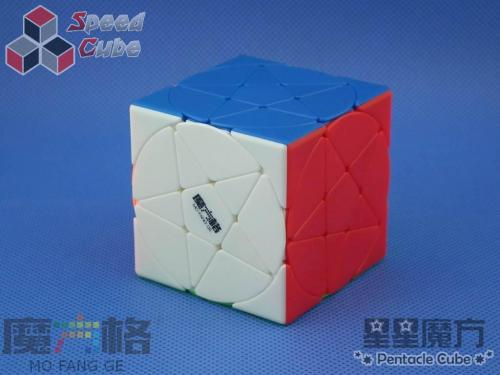 QiYi MoFangGe Pentacle Cube Kolorowa