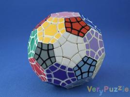 VeryPuzzle Tuttminx v1 White