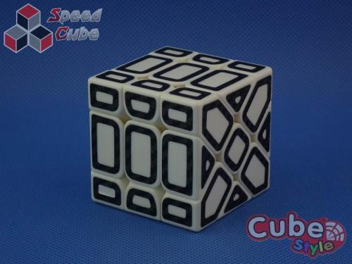 Cube Style Fisher White Hollow Carbon Stick.