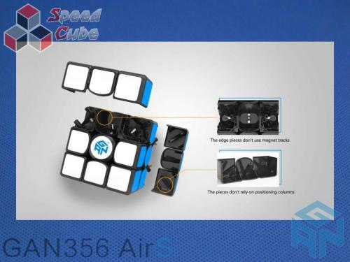 Gans GAN356 Air S 3x3x3 Czarna