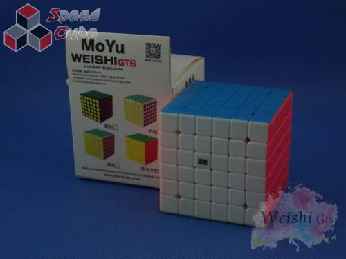 MoYu WeiShi GTS 6x6x6 Kolorowa