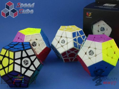 MoFangGe Megaminx GalaXy V2 Sculpture Kolorowa