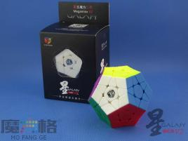 MoFangGe Megaminx GalaXy V2 Concave Kolorowa