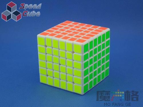 MoFangGe QiYi 6x6x6 WuHua v2 Biała