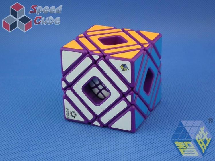YuXin Multi Skewb Cube Purple