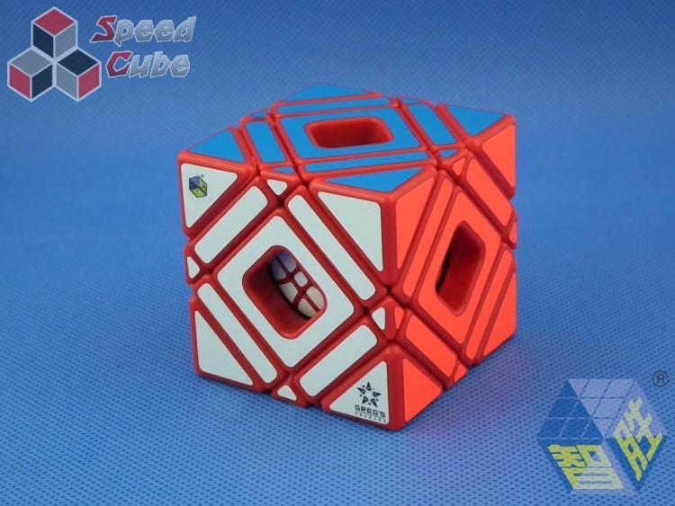 YuXin Multi Skewb Cube Red