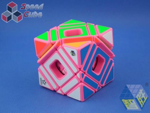 YuXin Multi Skewb Cube Pink