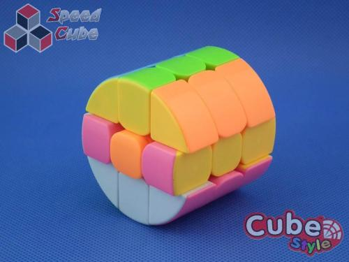 Cube Style Cylinder 3x3x3 Candy