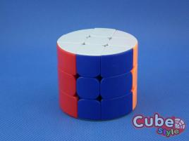 Cube Style Cylinder 3x3x3 Vertical Stickerless