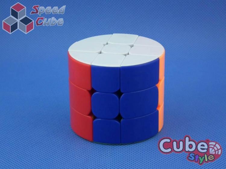 Cube Style Cylinder 3x3x3 Stickerless